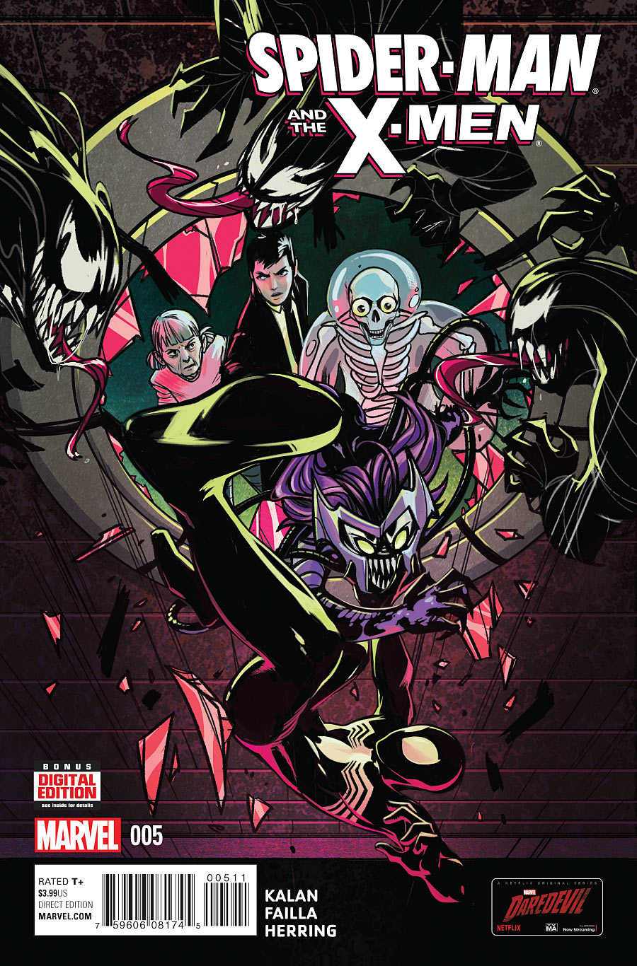 Spider-Man and the X-Men #5