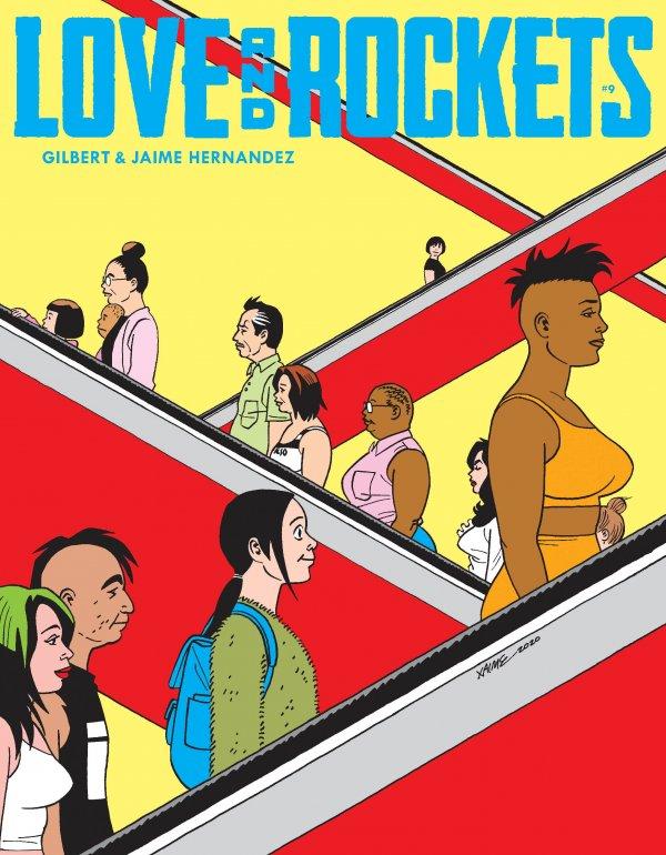 Love & Rockets Magazine #9