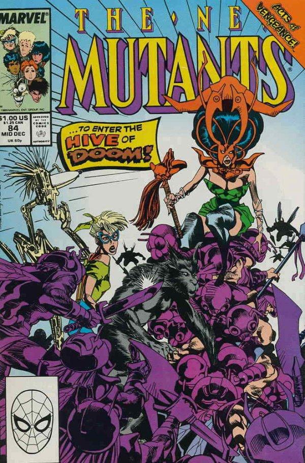 The New Mutants #84