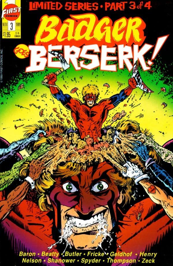 Badger Goes Berserk! #3