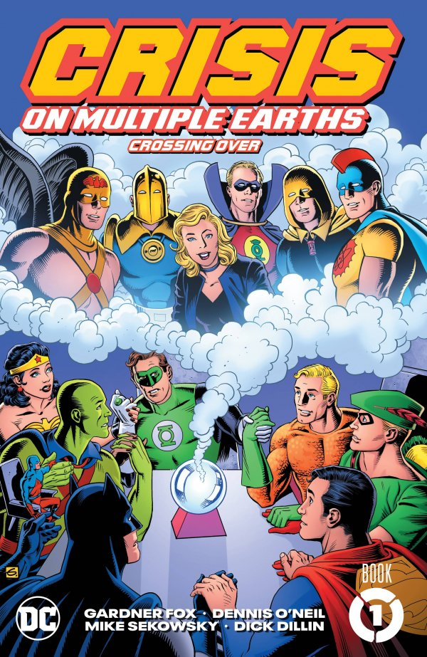 Crisis on Multiple Earths Book One: Crossing Over TP