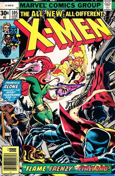 The X-Men #105
