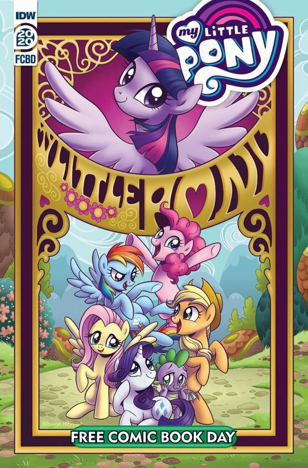 Free Comic Book Day 2020: My Little Pony: Friendship Is Magic #1