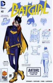 Batgirl #42 LA Mole Babs Tarr Comic Con Variant