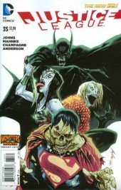 Justice League #35 Monsters Variant