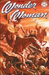 Wonder Woman #750 Alex Ross Art Homage Variant Cover