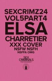 Sex Criminals #24 XXX Elsa Charretier Variant