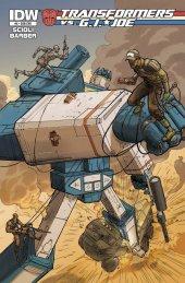 Transformers vs. G.I. Joe #4 Subscription Variant