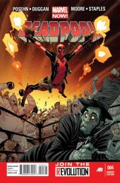 Deadpool #4 Moore Variant