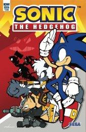 Sonic the Hedgehog Annual 2019 #1 Original Cover