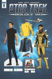 Star Trek: Boldly Go #2 Retailer Incentive B