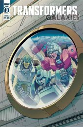Transformers: Galaxies #8 Cover B Chan