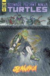 Teenage Mutant Ninja Turtles: Jennika #3 1:10 Peach Momoko Variant