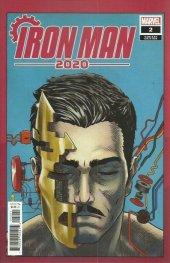 Iron Man 2020 #2 Superlog Heads Variant