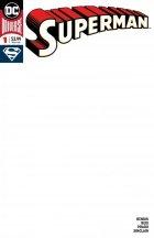 Superman #1 Blank Variant