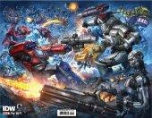 Transformers Vs. Terminator #1 Alan Quah Variant