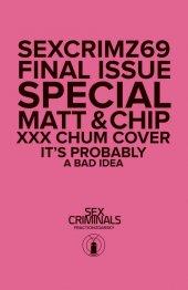 Sex Criminals #69 XXX Photo variant