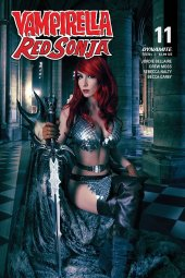 Vampirella / Red Sonja #11 Covere D Zawadzki Cosplay