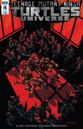 Teenage Mutant Ninja Turtles: Universe #4 Subscription cover A