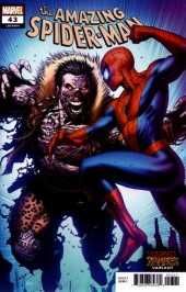 The Amazing Spider-Man #43 Keown Marvel Zombies Variant