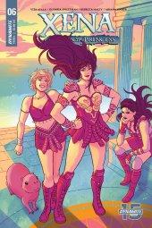Xena: Warrior Princess #6 Cover C Ganucheau