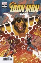 Iron Man 2020 #6 Ron Lim Variant