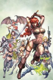 Red Sonja: Age of Chaos #2 Quah Ltd Virgin Cover