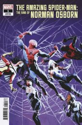 The Amazing Spider-Man: Sins of Norman Osborn #1 Variant Cover