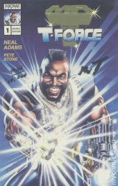 Mr. T and the T-Force #1 Gold Foil Variant