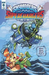 Skylanders: Superchargers #6 Subscription Variant