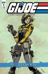 G.I. Joe: A Real American Hero - Silent Option #1 Cover B Loh