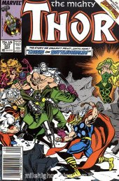 The Mighty Thor #383 Newsstand Edition