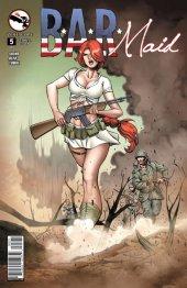 B.A.R. Maid #5 Cover B Qualano