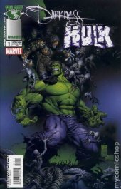 The Darkness / The Incredible Hulk #1 Variant Edition Silvestri Cover