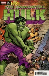 The Immortal Hulk: The Best Defense #1 Jacky Kirby Remastered Variant
