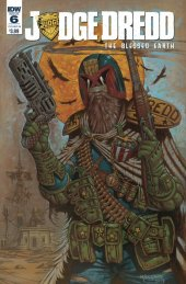 Judge Dredd: Blessed Earth #6 Cover B Millgate