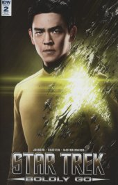 Star Trek: Boldly Go #2 Cover C - Incentive Photo Variant Cover