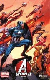 Avengers World #1 Wraparound Variant