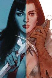 Vampirella / Red Sonja #5 Oliver Virgin Cover