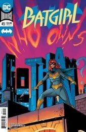Batgirl #45 Original Cover