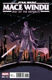 Star Wars: Jedi of the Republic - Mace Windu #4 Shalvey Variant