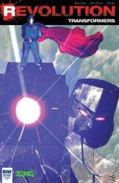 Transformers: Revolution #1 Variant