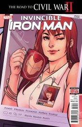 Invincible Iron Man #10 Original Cover