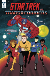 Star Trek vs. Transformers #1 1:25 Cover Charm