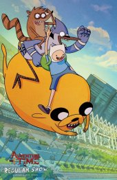 Adventure Time / Regular Show #1 San Diego Comic-Con Variant
