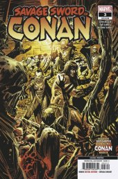 Savage Sword of Conan #3 2nd Printing