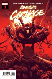 ABSOLUTE CARNAGE #1 Partial Sketch Premiere Variant NM