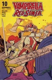 Vampirella / Red Sonja #10 Cover C Romero