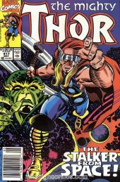The Mighty Thor #417 Newsstand Edition