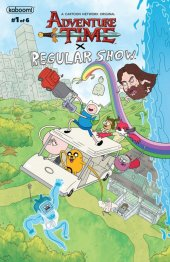 Adventure Time / Regular Show #1 Original Cover
